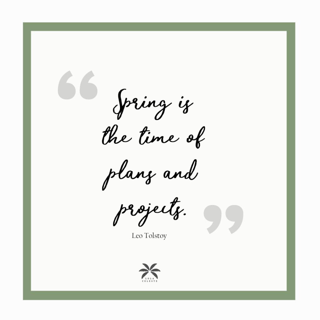 15 Inspiring Spring Quotes to welcome a New Season via @lola_celeste_official