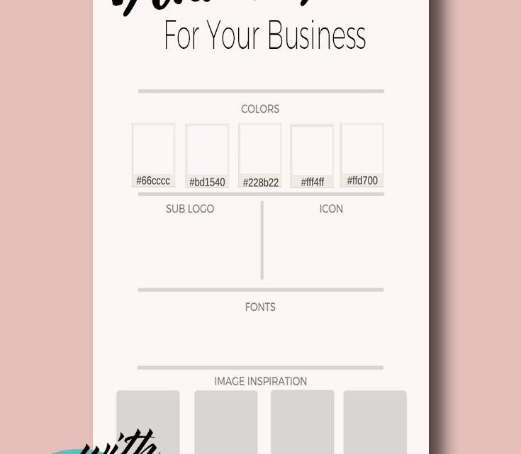 Admire those accounts with a professional pulled together online look? After creating your brand board you will also have just as polished and cohesive look as those businesses you admire. Easily create a brand style board and take your business to a new level. Also get the free brand board template editable with Canva download.