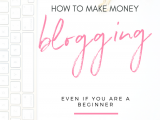 Friends often ask me how do I make money from blogging. Ads are what most beginning bloggers try, but there are so many other ways to make money from your blog. Work your blog, work from home and make a living from it with these staple strategies. #workfromhome #blogging #startablog #monetizeablog #passiveincome #mompreneur